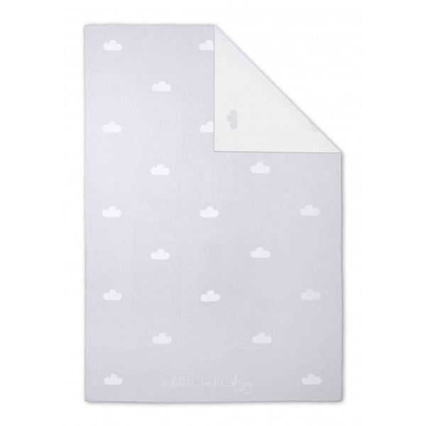 Katie Loxton Baby Blanket - A Little Bundle of Joy (Pale Grey)