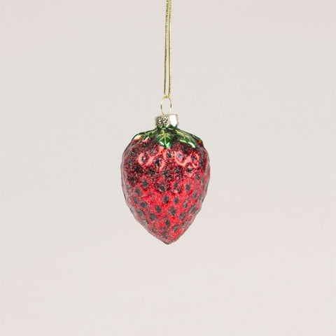 Strawberry Christmas Tree Decoration