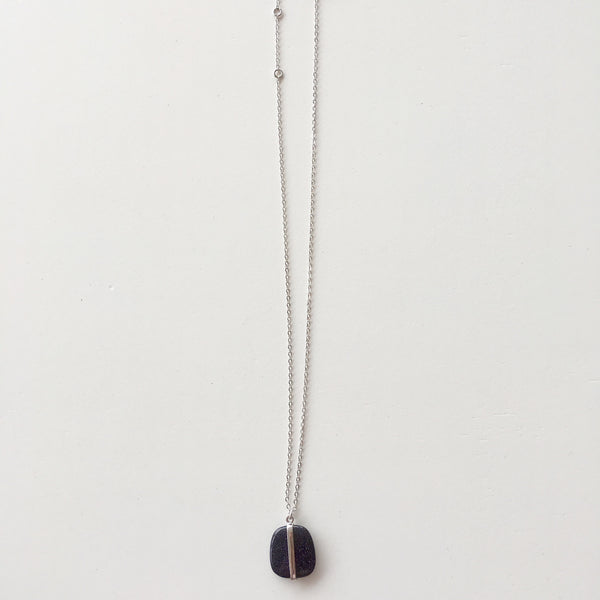Lola Rose Boutique Bassa Necklace - Blue Sandstone