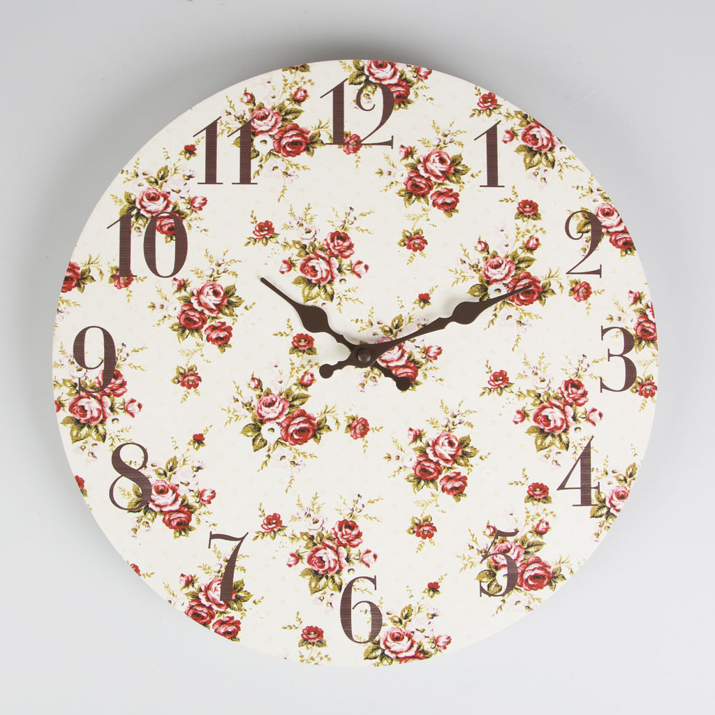 Sass & Belle Lady Antoinette Round Wall Clock