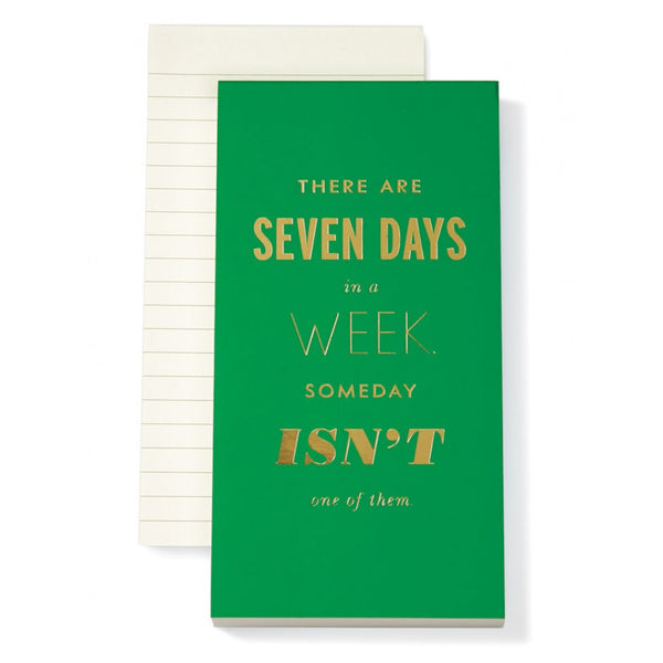 Kate Spade New York Large Notepad - Someday