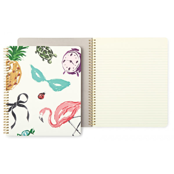 Kate Spade New York Large Spiral Notebook - Favourite Things