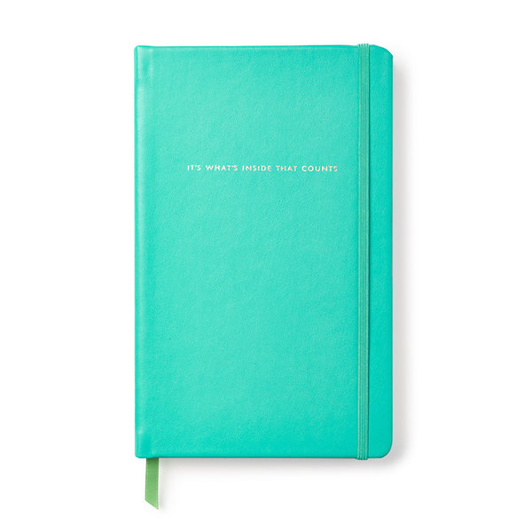 Kate Spade New York Take Note Large Notebook - It's What's Inside That Counts