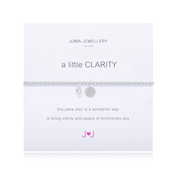 Joma Jewellery A Little Clarity Bracelet