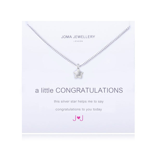 Joma Jewellery A Little Congratulations Necklace