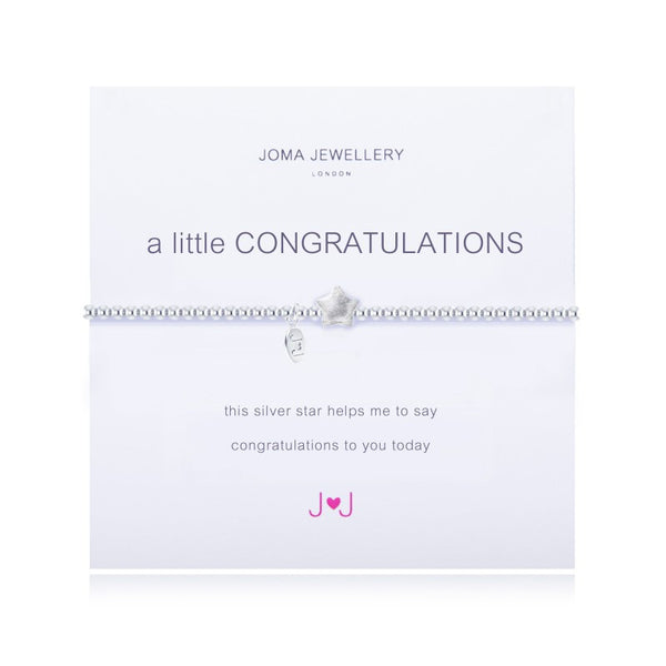Joma Jewellery A Little Congratulations Bracelet