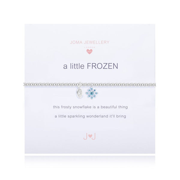 Joma Jewellery Girls A Little Frozen Bracelet