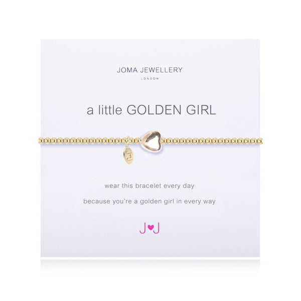 Joma Jewellery A Little Golden Girl Bracelet