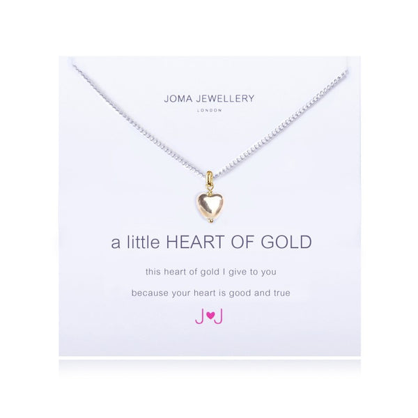 Joma Jewellery A Little Heart of Gold Necklace