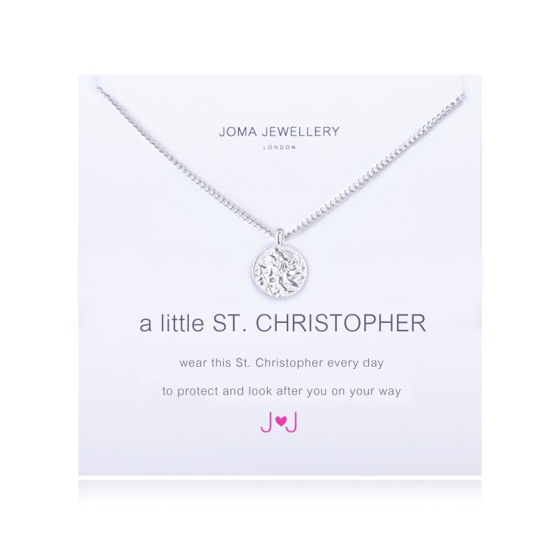 Joma Jewellery A Little St. Christopher Necklace
