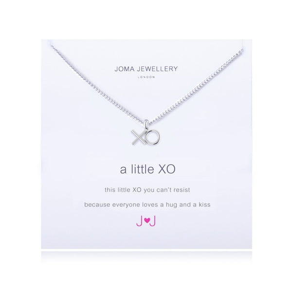 Joma Jewellery A Little XO Necklace