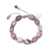 Lola Rose Angel Bracelet - Light Cape Amethyst