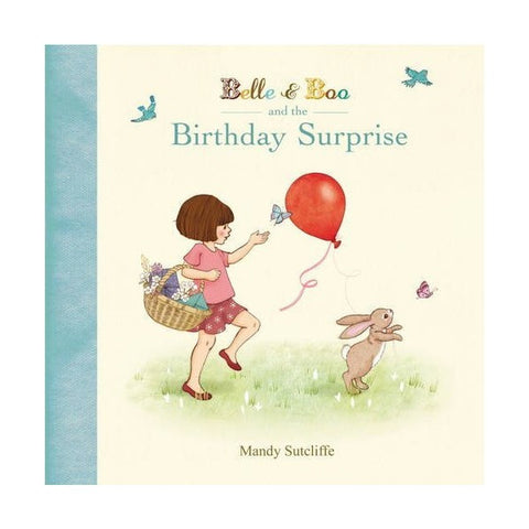 'Belle & Boo and the Birthday Surprise' Storybook (Hardback)