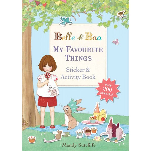 Belle & Boo 'My Favourite Things' Sticker Book (Paperback)
