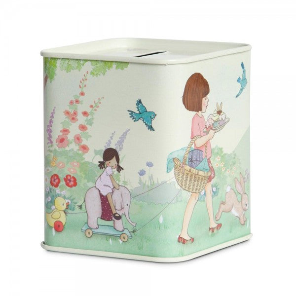 Belle & Boo Tin Money Box - Birthday Surprise