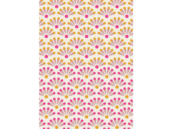 PiP Studio Blooming Tiles Towel Collection - White