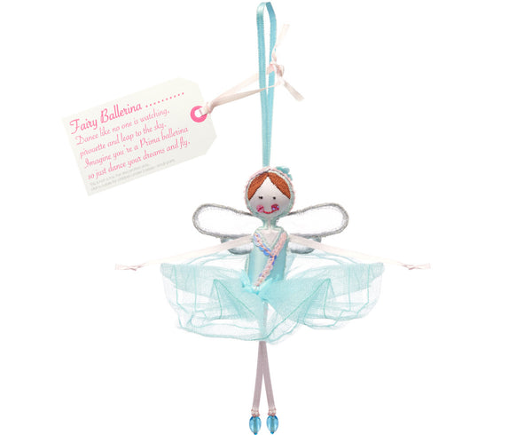 Fairy Ballerina - Blue