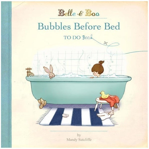 Belle & Boo 'Bubbles Before Bed' To Do Book (Paperback)