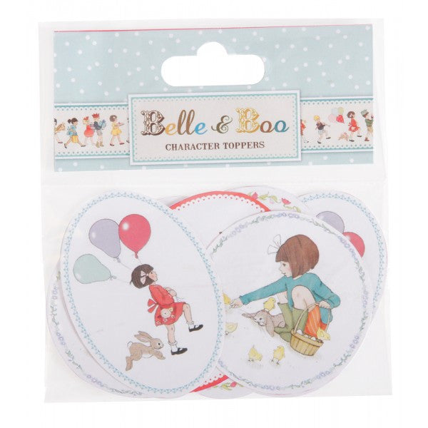Belle & Boo Card Character Toppers