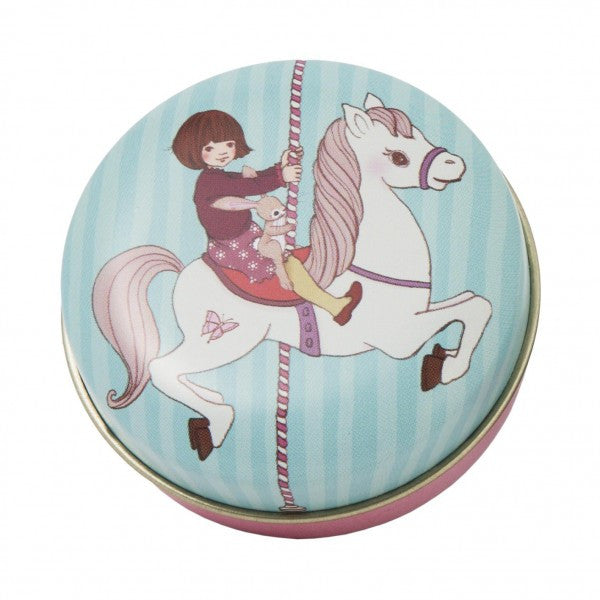 Belle & Boo Pocket Tin - Carousel