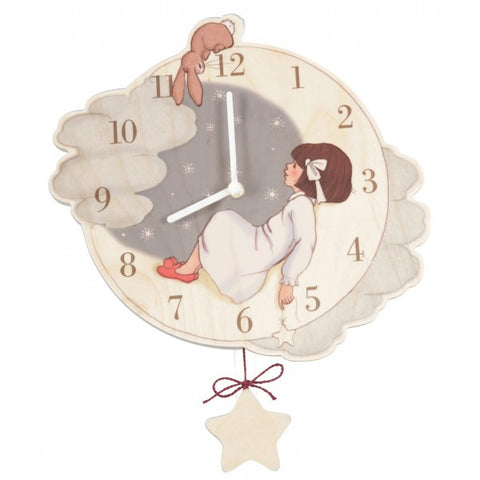 Belle & Boo Catch A Star Clock