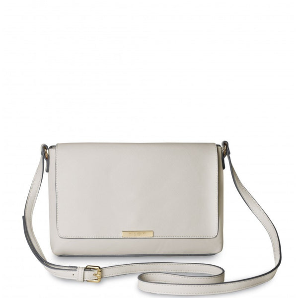 Katie Loxton Classic Cross Body Bag - Cream