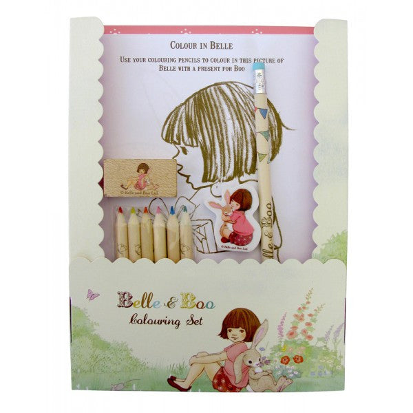 Belle & Boo Colouring Set