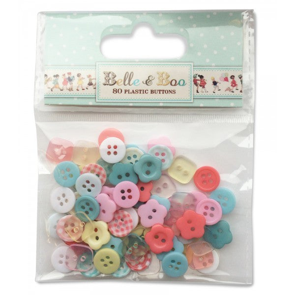 Belle & Boo Craft Buttons