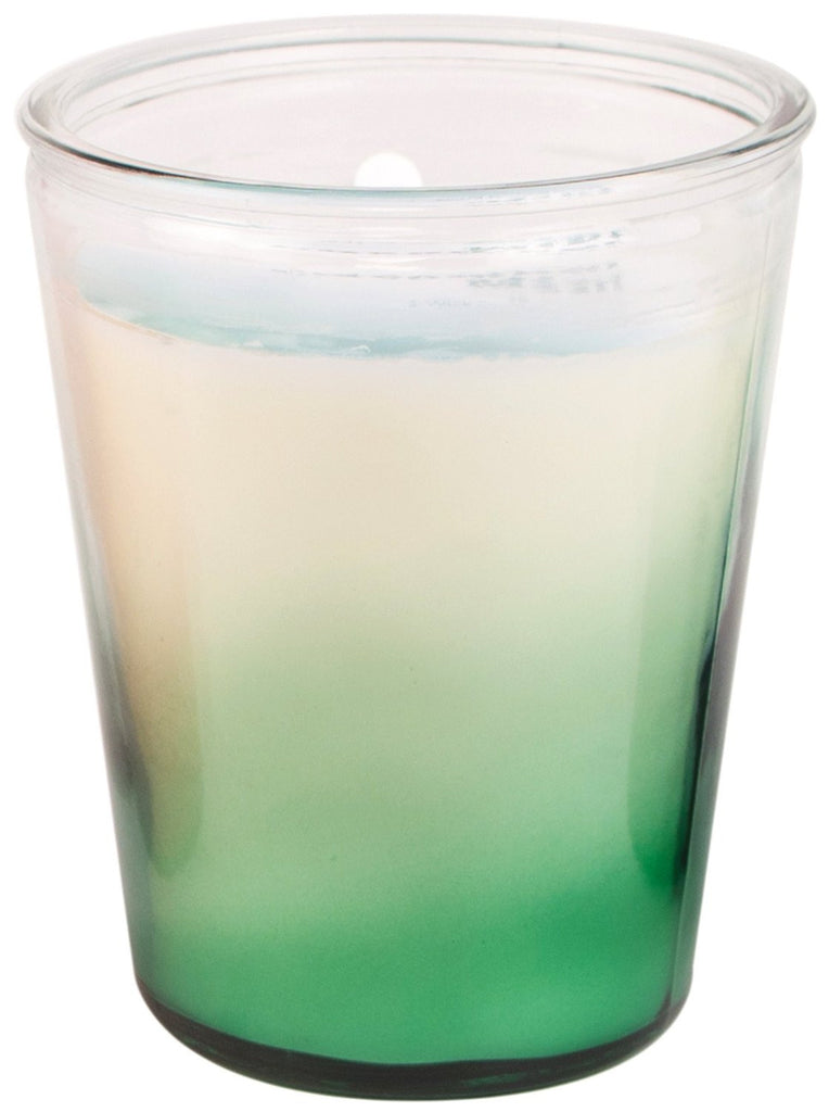 Paddywax Watercolour Cucumber Mint Ombre Glass Candle (8oz.)