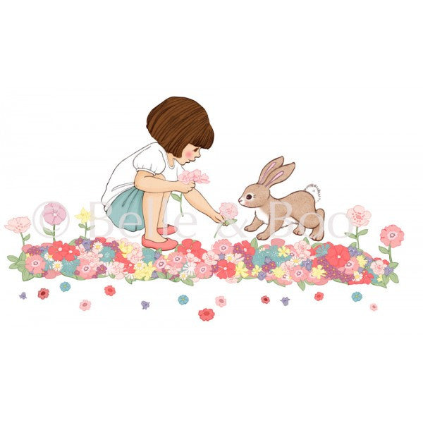 Belle & Boo Wall Sticker - Belle's Meadow