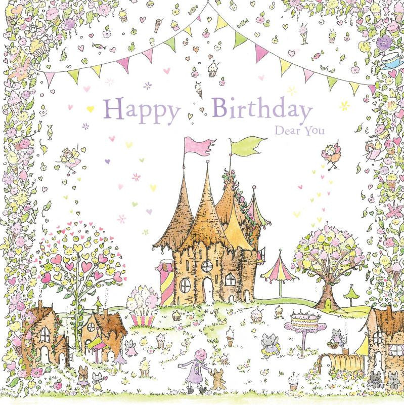 The Porch Fairies Birthday Card - Dear You #1
