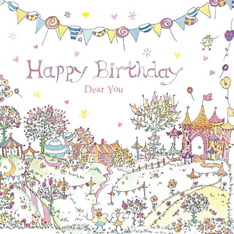 The Porch Fairies Birthday Card - Dear You #2