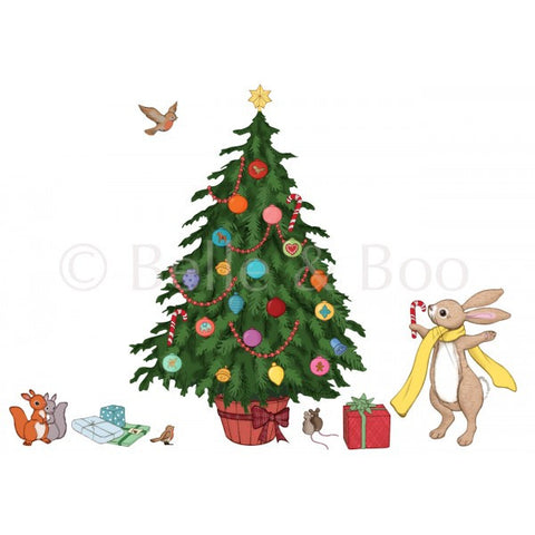 Belle & Boo 'Decorate Me' Christmas Tree Wall Sticker