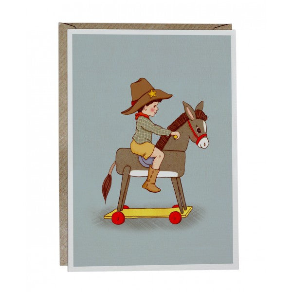 Belle & Boo 'Donkey' Card