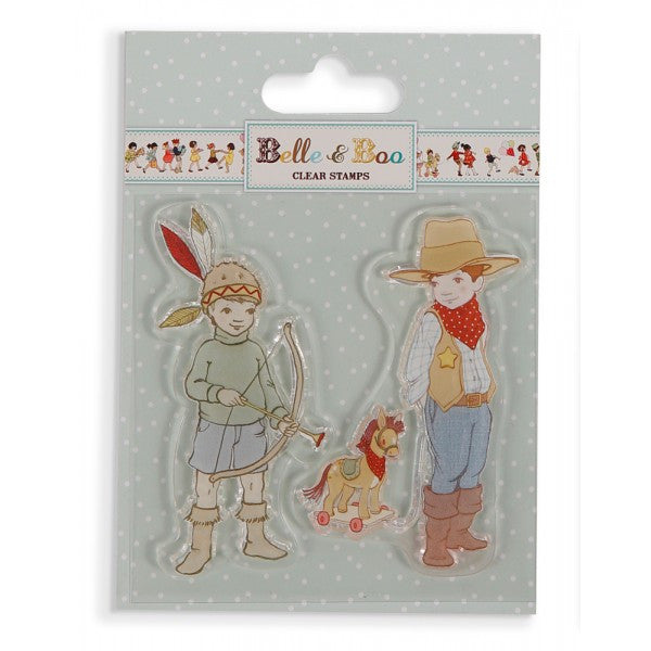 Belle & Boo Clear Stamp - Ellis & Easy