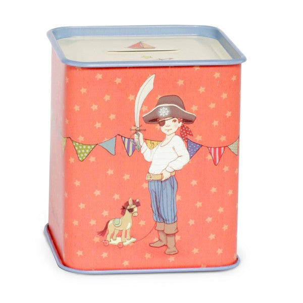 Belle & Boo Tin Money Box - Ellis & Easy