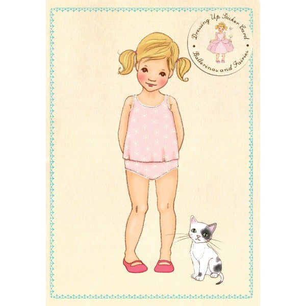 Belle & Boo Ava Sticker Card