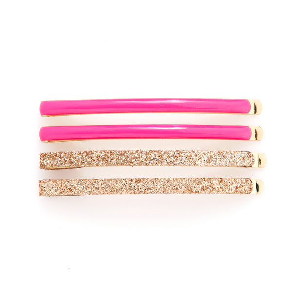 Ban.do Flash Bobbi Set - Gold Glitter / Neon Pink