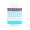Ban.do Girl Bands Hair Elastics - Ticket Stripe