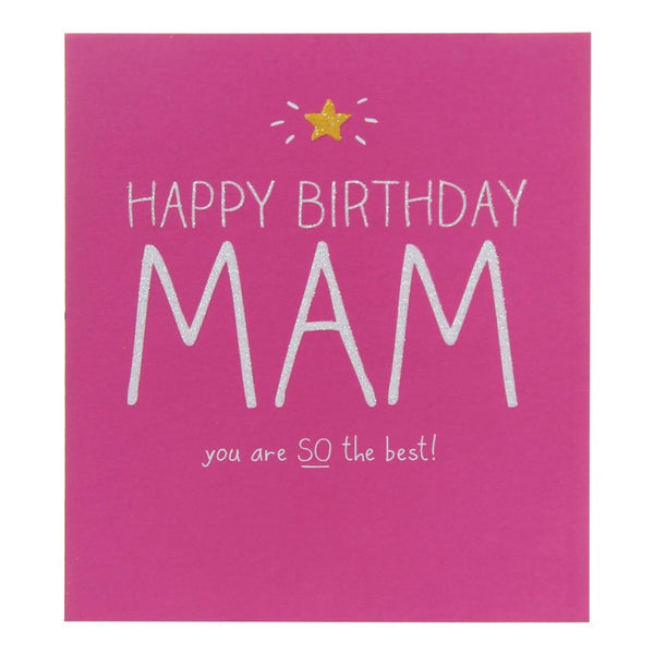 Happy Jackson Happy Birthday Mam Card The Lovely Room