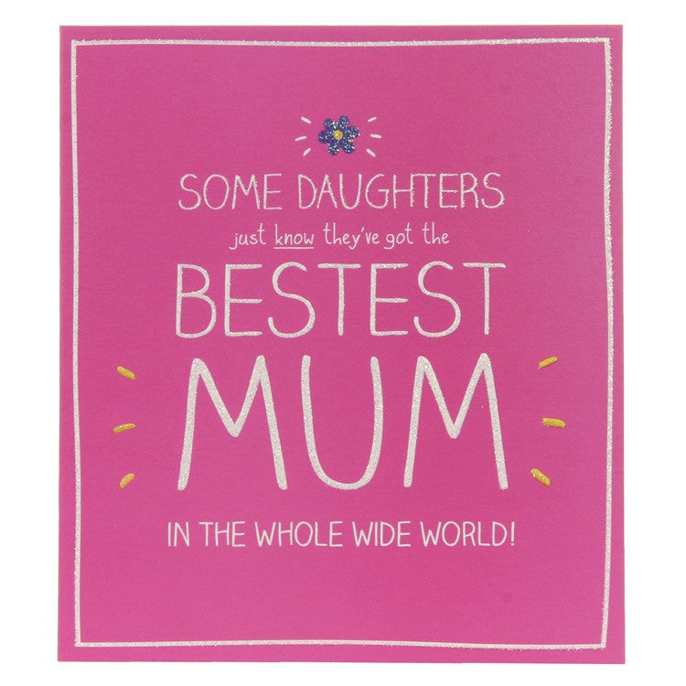 Happy Jackson Bestest Mum Birthday Card
