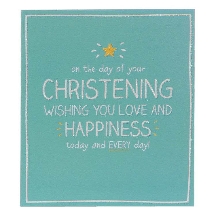 Happy Jackson Christening Card