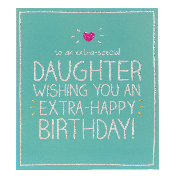 Happy Jackson Extra-Special Daughter Birthday Card