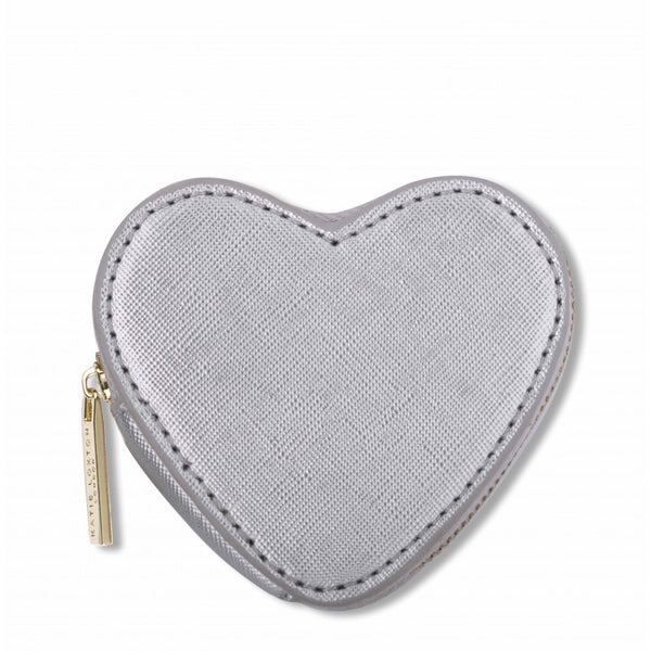 Katie Loxton The Heart Purse - Silver