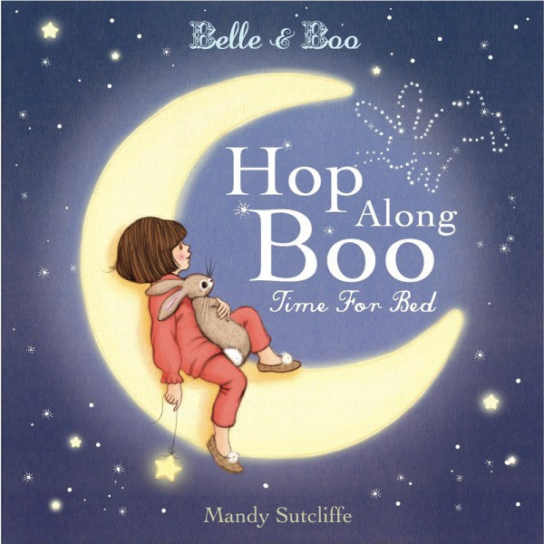 Belle & Boo 'Hop Along Boo, Time for Bed' Storybook (Hardback)