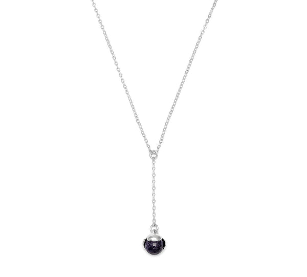 Lola Rose Boutique Bettina Necklace - Blue Sandstone