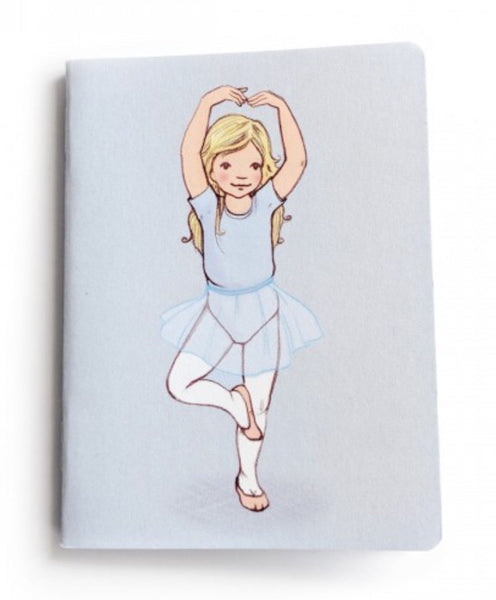 Belle & Boo 'Pirouette' Mini Notebook