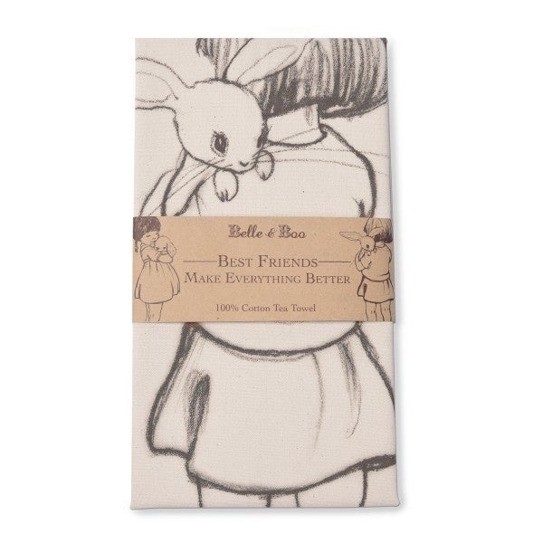 Belle & Boo Best Friends Set of 2 Tea Towels