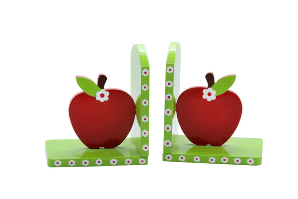 Gisela Graham Wooden Apple Bookends