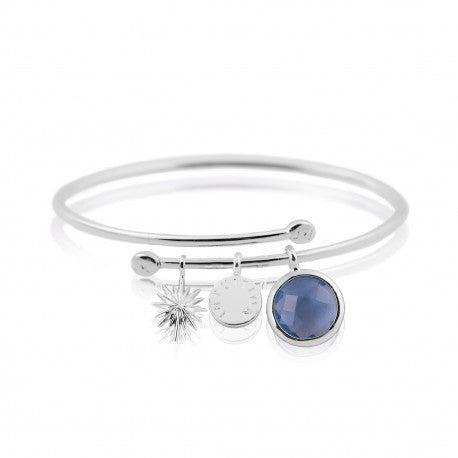 Joma Jewellery Intuition Story Bangle